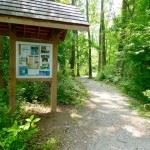 Information Booth at the Start of the Trail